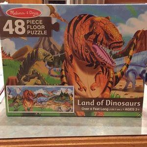 Melissa & Doug Dinosaur puzzle
